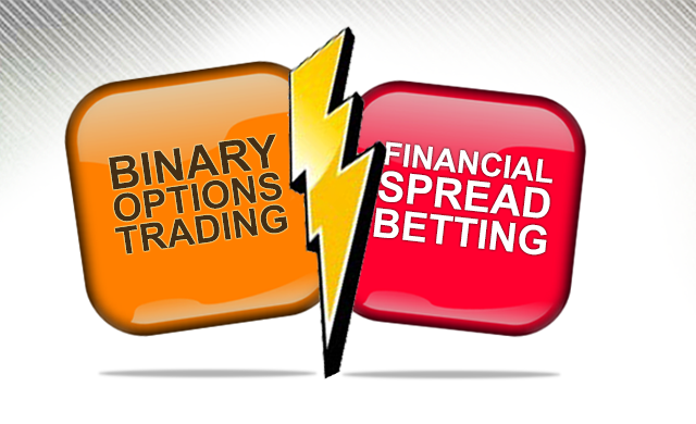 Spread betting options trading
