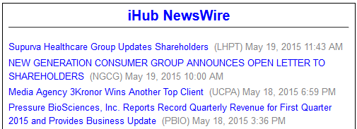InvestorsHub NewsWire Messages Footer